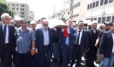 تشييع النائب السابق عبداللطيف الزين في بلدته كفررمان