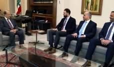 الرئيس عون عرض للأوضاع العامة والتطورات الحكومية مع تيمور جنبلاط يرافقه أبو الحسن