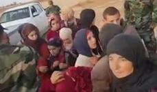 """سانا: الدروز المحررون من قبضة """"داعش"""" يلتقون بذويهم"""
