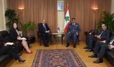 اللواء عثمان التقى سفير هولندا والناب أكرم شهيّب