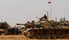 رئاسة تركيا:قوات تابعة للنظام السوري حاولت دخول عفرين وصدتها المدفعية