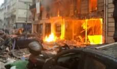 ارتفاع عدد ضحايا الانفجار في باريس إلى 3 قتلى بينهم مواطن إسباني وعشرات الجرحى