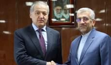 تطوير التعاون بين ايران وطاجيكستان في مجال المياه والطاقة