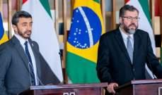 وزير خارجية الإمارات: لتضافر جهود المجتمع الدولي ضد الإرهاب والتطرف