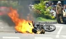 شرطة سريلانكا: فجّرنا دراجة مفخخة قرب سينما سافوي