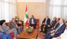 الحريري التقى علاوي وعرض معه التطورات الراهنة