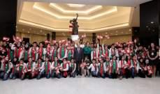 القصر الجمهوري واصل استقبال طلاب لبنان لليوم الثاني على التوالي لمناسبة الاستقلال