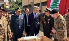 سفير تركيا: سلمنا الجيش اللبناني قطع غيار للدبابات ولناقلات الجنود