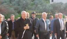 المطران العمار ترأس قداسا احتفاليا لمناسبة عيد البشارة في درب السيم