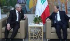 الرئيس عون التقى رئيس مجلس الأمة الجزائري والنائب الأول للرئيس السوداني على هامش القمة