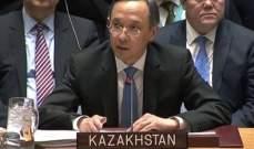 وزير الخارجية الكازاخي: اتفاق حول الحقوق السيادية والحصرية للدول الساحلية  لبحر قزوين