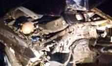 النشرة: اصابة 4 أشخاص بحادث سير في عدلون