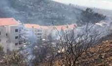 الدفاع المدني: إخماد 3 حرائق أعشاب في بيت شباب وبدنايل وبياقوت