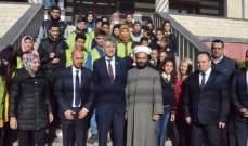 بلدية عيدمون شيخلار افتتحت شارع تركيا في البلدة بحضور السفير التركي