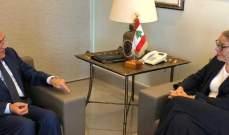 ميشال سليمان استقبل كاردل: تحصين لبنان يبدأ باستراتيجية دفاعية