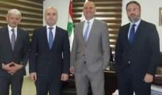 رئيس الوزراء السلوفاكي التقى حاصباني وجعجع وزار مخيم شاتيلا