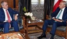 بري التقى السفير السوري وعرض معه التطورات الراهنة