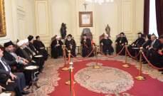 الراعي استقبل السفير الروسي ووزراء ونوابًا وهيئات للتعزية بصفير