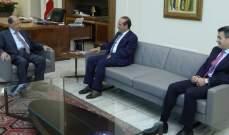 الرئيس عون استقبل رائد خوري وفادي عسلي في قصر بعبدا