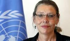 سلطات فرنسا نوهت بتعيين المنسقة الخاصة للأمين العام للأمم المتحدة بلبنان