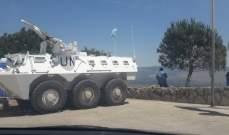 النشرة:قوة اسرائيلية تتفقد الطريق العسكري المحاذي للسياج الحدودي وأجهزة المراقبة عليه