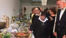 وزير البيئة رعى افتتاح معرض ثانوية الراهبات الانطونيات في غزير