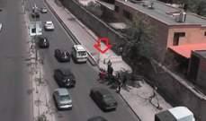 جريح نتيجة حادث تصادم بين مركبة ودراجة على البربير باتجاه المتحف