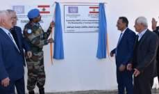 """الكتيبة الهندية في """"اليونيفيل"""" قدمت فرنا كهربائيا لتعاونية الفخار في راشيا الفخار"""