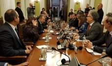 باسيل بدأ زيارة رسمية لصربيا ودعا لتطوير التبادل التجاري والزراعي
