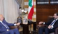 الحريري التقى الصفدي وعرض معه الاوضاع العامة