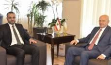 داوود استقبل مراد ونائب رئيس الوكالة الفيدرالية الروسية للتعاون الدولي