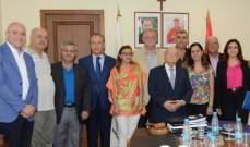 أبي نصر تمنى أن تعود الجامعة اللبنانية الثقافية في العالم موحّدة