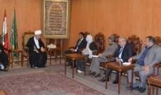 قبلان التقى سفير باكستان وعرض معه العلاقات الثنائية