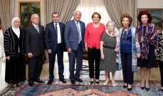 اللبنانية الاولى التقت وفداً من جمعية دار الامل ولجنة مهرجانات راشيا