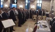 أبو جودة خلال افتتاح قاعة كنيسة السيدة في الشقدوف: العذراء تلمّنا جميعا