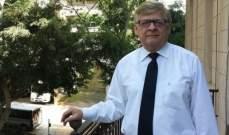 زاسبيكين: الجانب الروسي يهتم بالتعلقيات السياسية لجورج شعبان