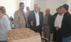 الريجي باشرت تسلم محصول التبغ من مزارعي النبطية بمبنى الريجي بكفررمان