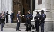 شرطة نيويورك: الرجل الذي أوقف في كاتدرائية بالمدينة كان ينوي السفر إلى روما