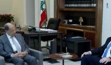 الرئيس عون استقبل جوزيف أبو فاضل: من يريد أن يحافظ على لبنان الدولة والتسوية الرئاسية عليه أن يضحي