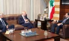 الحريري بحث بمطالب بعلبك- الهرمل مع النائبين حبشي والحجيري