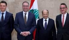 """انين: مستمرون بدعم لبنان والمشاركة في القوة البحرية في """"اليونيفيل"""""""