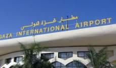 الطيران الإسرائيلي يشن غارات على مطار غزة المدمر