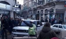 النشرة: الجيش يطلق النار في سوق بعلبك على سيارة من دون لوحات