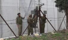 النشرة: قوة اسرائيلية مشطت الطريق العسكري ما بين تلال الوزاني ووادي العسل