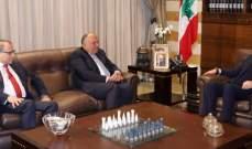 شكري: أكدت للحريري موقف مصر الداعم لاستقرار لبنان وتشكيل حكومة وفاق وطني