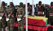 غانا تودع كوفي أنان في جنازة رسمية بحضور زعماء من مختلف أنحاء العالم