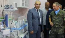 السلطات الإسبانية تبرعت بجهازي تنفس بقيمة 30 ألف دولار لمستشفى ميس الجبل