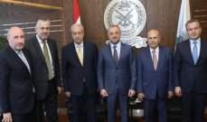 وزير الدفاع التقى وفدا من نواب عكار وسفير بريطانيا والأحدب