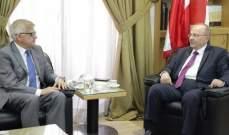 زاسبكين: نسعى للحل بسوريا إنطلاقا من مبدأ حماية سيادتها والحفاظ على وحدة أراضيها