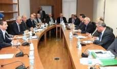 لجنة الأشغال أقرت 3 مشاريع قوانين لاتفاقيات قروض للصرف الصحي وتطوير الطرق والنقل العام